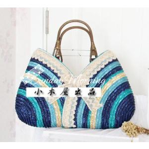 あすつく【送料無料】カゴバッグ 手提げバッグ ハンドバッグ ショルダー 天然ペーパー素材 レディース メンズ|ogiya