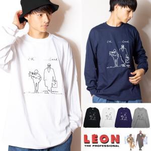 LEON レオン マチルダ 「ok good...」 リブロンT (長袖Tシャツ)映画Tシャツ|oguoy