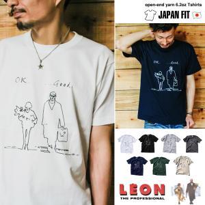 LEON 「ok good...」レオンとマチルダ 映画Tシャツ|oguoy