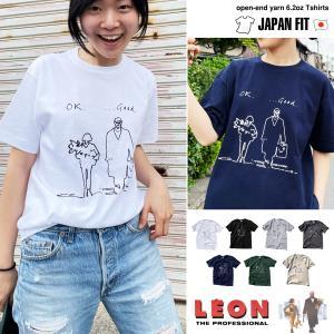 LEON レオン マチルダ「ok good...」 半袖 Tシャツ 映画Tシャツ 「ユニセックス」【レディースモデル】|oguoy