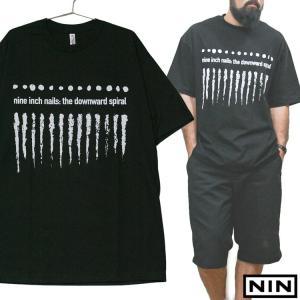 NINE INCH NAILS 「THE DOWNWARD SPIRAL 」「ナインインチネイルズ」 「ザ ダウンワードスパイラル」バンド Tシャツ USA企画|oguoy