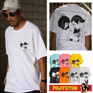 パルプフィクション 「DANCE」「Twist Contest」 PULP FICTION 映画 バックプリント 映画 Tシャツ|oguoy