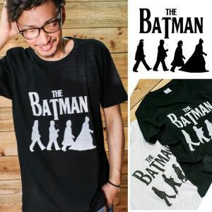 なんか見たことあるなぁ。  そうなんです。ビートルズの有名なアビーロードのデザインをバットマンでパロ...