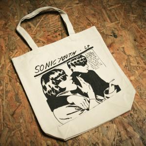 Sonic youth 「GOO 」ソニックユース キャンバス トートバッグ(10L) oguoy