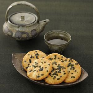 美味しいせんべい 嵯峨乃焼 詰め替え袋(2枚入り27袋)(係数12)|ogurasansou|05
