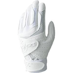 asics(アシックス) トリプルベルト バッティング用手袋(片手売り) BEG232|oguspo