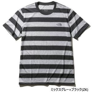 ザ・ノース・フェイス(THE NORTH FACE) 半袖Tシャツ カラーへザードボーダーティー NT32082|oguspo