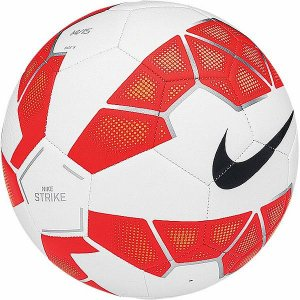 NIKE(ナイキ)サッカーボール 激安 ストライク SC2356 (100)ホワイト/ブライトクリムゾン/(ブラック)|oguspo