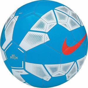 NIKE(ナイキ)激安  サッカーボール ピッチ SC2623(407)ブルーラグーン/ホワイト/(ハイパークリムゾン)|oguspo