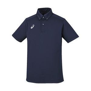 asics(アシックス) トレーニングウエア ボタンダウンシャツ XA6183|oguspo