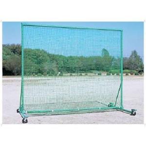 ZETT(ゼット) 送料無料 体育器具 防球ネット(車付き) 高さ250×巾300×奥行160cm ZN7505|oguspo