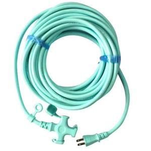 電工ドラム コード 延長コード 10m(kowa)ラバロン延長コード km0602-10ブルー