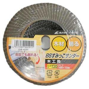 ディスクグラインダー 刃(BS)すみっこサンダー木工用 a粒度1ks291(用途)/木工加工作業。 ...