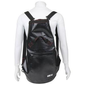 リュック SK11・無縫製防水リュック・ブラック