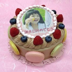 生チョコレートケーキ バースデーケーキ お誕生日 パーティー...