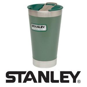 STANLEY(スタンレー)クラシック真空パイント フタ付 栓抜き付 おしゃれな ステンレス タンブラー 保温 保冷 0.47L