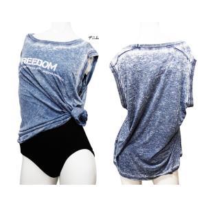 バレエ ウォームアップ Capezio(カペジオ)ノースリーブTシャツ バレエトップス バレエ用品(ゆうパケット選択可)|ohana|04