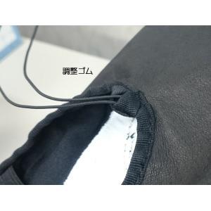 バレエシューズ 全革 スプリットソール ダンス 20.0-25.5cm ブラック バレエ用品(ゆうパケット選択可)|ohana|03