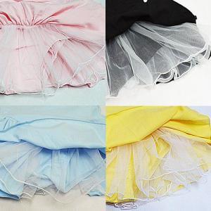 バレエ レオタード 子供用 フリフリストラップ バックリボン スカート付 バレエ用品(1点に限りゆうパケット選択可)|ohana|02
