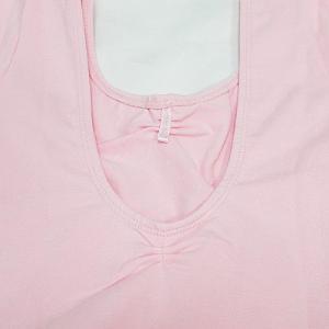 バレエ レオタード 子供用 スカート付 ラインストーン 半袖 バレエ用品(ゆうパケット送料無料選択可)|ohana|06