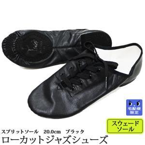 ジャズダンスシューズ ローカット スウェードソール 20.0-27.5cm ダンス用品(宅配便限定)|ohana