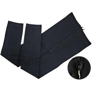 バレエタイツ 7分丈 フットレス スパッツ ブラック ヨガ ピラティス バレエ用品(ゆうパケット選択可)|ohana|03