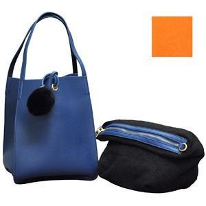 ショルダーポーチ付きバッグ<C+シー>ファスサンファールK01435|oharaonline