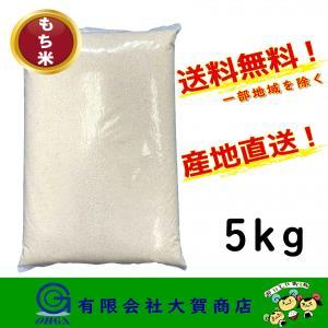 米 お米 白米 小分け 5kg もち米 精米 送料無料 もち米5kg|ohga-syouten