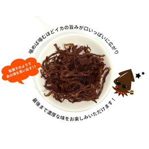 「まっ黒さきいか」×5袋 メール便/送料無料/...の詳細画像3