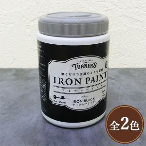 アイアンペイント 500ml(5〜6平米/1回塗り) ターナー色彩/水性/安全/DIY/ペイント