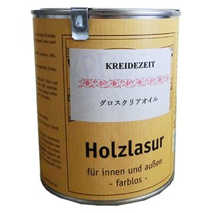 内装全般に使える万能タイプ。グロスクリアオイルは熱に非常に強くテーブルの天板に塗装すると輪じみを防ぎ...