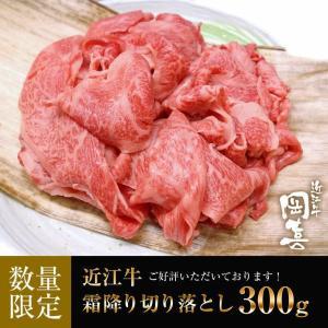 近江牛霜降り切り落とし300g【冷凍】|ohimiushi-okaki