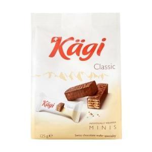 同梱・代引不可Kagi(カーギ) チョコウエハース ミニミルクバッグ 125g×12袋