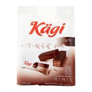 同梱・代引不可Kagi(カーギ) チョコウエハース ミニダークバッグ 125g×12袋