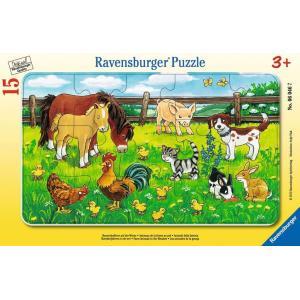 ラベンスバーガー パズル 農場の動物たち(15ピース)|ohisamaya