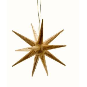 ドレクセル社 クリスマスの星・ナチュラル白木(大)|ohisamaya