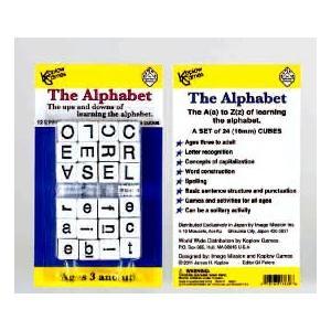 The Alphabet アルファベット学習ダイス  コプロウゲームス社 ohisamaya