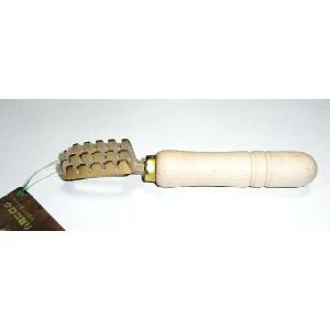 全長16.5cm、真鍮ダイキャスト 持ち手:木製 日本製(堺刀司)