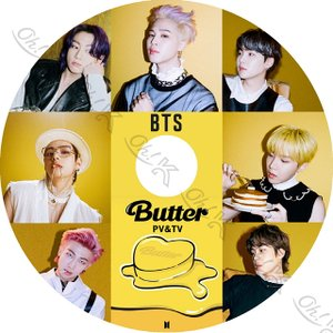 K-POP DVD BTS 2021 PV/TV - Butter Life Goes On Dynamite ON MAKE IT RIGHT Boy With Luv IDOL FAKE LOVE DNA Not Today - 防弾少年団 バンタ PV KPOP DVD