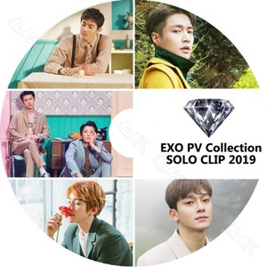 【K-POP DVD】★ EXO 2019 SOLO CLIP PV ★ EXO エクソ SUHO ...