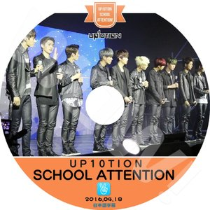【K-POP DVD】★ UP10TION SCHOOL ATTENTION (2016.04.18...