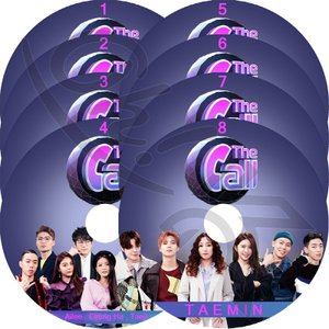 【K-POP DVD】 THE CALL 8枚SET 【日本語字幕あり】 SHINee TAEMIN...