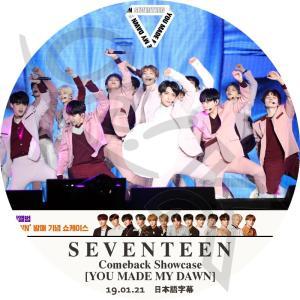 【K-POP DVD】★ SEVENTEEN 2019 Comeback Showcase (201...