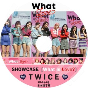 【KPOP DVD】★ TWICE Showcase #6 WHAT IS LOVE (2018.0...