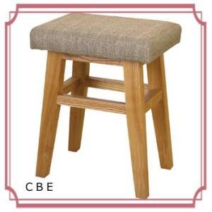 木製 椅子 おしゃれ ベージュ レッド ブラック  バンビ スツール CL-785