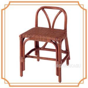 ラタン 籐 スツール チェア 椅子 B-98D|ohkawakagu
