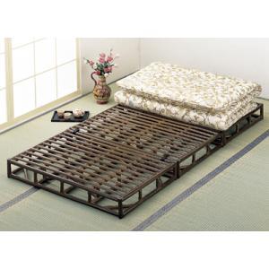 寝汗を発散させてくれるすのこ構造の籐ベッド。しなりのいい籐が体を心地よく支えぐっすり眠れます。   ...