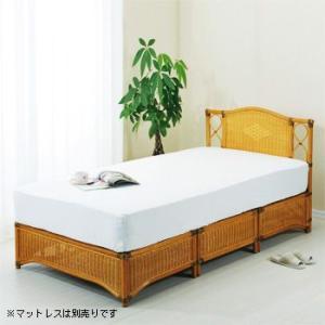 スノコ仕様でバツグンの通気性。あたたかい自然素材をベッドの上で満喫!  【外寸】[ベッド時]幅100...