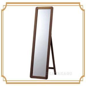 スタンドミラー 姿見 全身鏡 木製 WN B3600|ohkawakagu