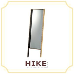HIKE ミラー ノビ  ハイク 鏡 インテリア 長方形 ミラー 木製 玄関 身だしなみ スタイリッシュ B7028/B7029|ohkawakagu
